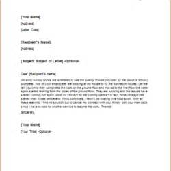 Cancellation Letter Due To Poor Service Formal Official And Professional Letter Templates Part 11