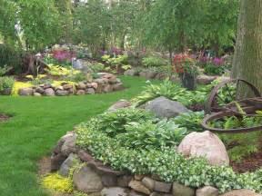 Hosta Garden Ideas Hosta Rock Garden Garden Ideas