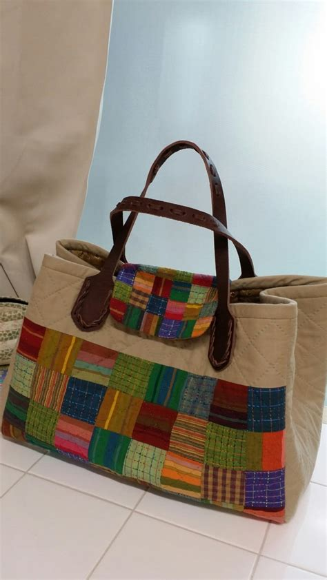 Patchwork Bag - quilting patchwork bag tutorial diy
