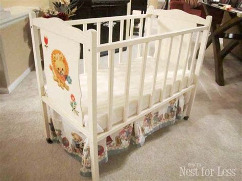 Painted Cribs by Trash To Treasure Reved Baby Crib How To Nest For Less