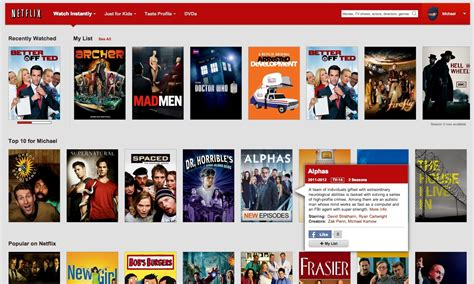 Home Design Shows On Canadian Netflix by Netflix Gains My List Feature