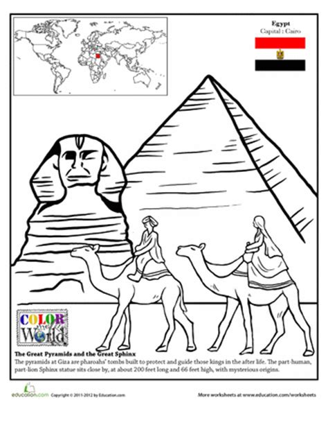 ancient egypt map coloring pages pictures to pin on