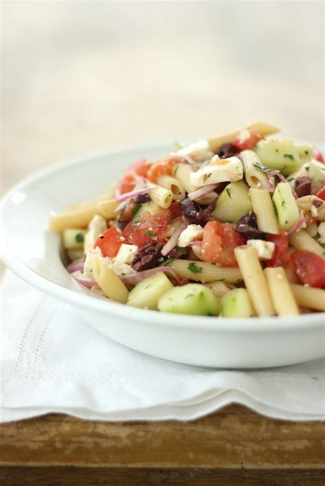 greek pasta salad greek pasta salad recipe dishmaps