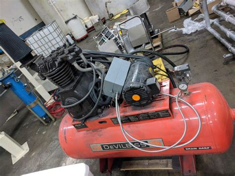 devilbiss 3hp air compressor steep hill equipment solutions
