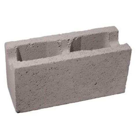 decorative concrete blocks home depot 6 in x 8 in x 16 in gray concrete block 100002742 the