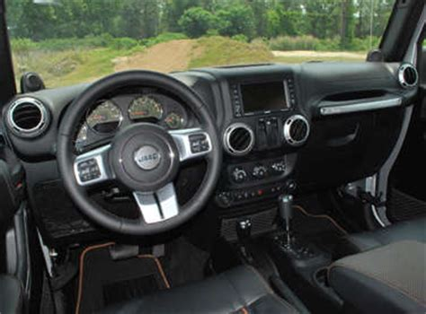 icon jeep interior 2011 jeep wrangler 70th anniversary edition road test and