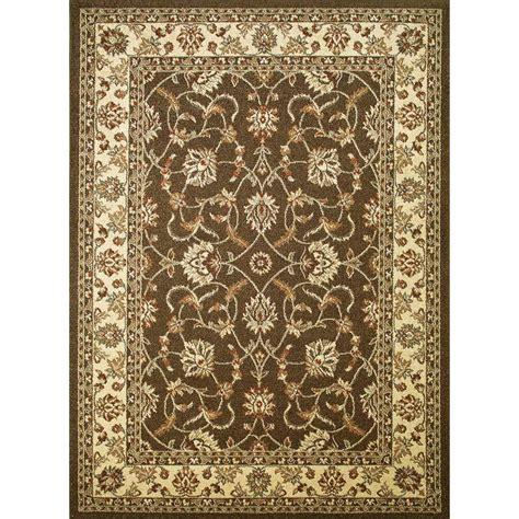 hton rugs area rug 5 x 7 187 shop tayse elegance beige rectangular indoor machine made vintiqueshomedecor