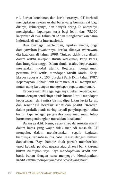 Buku Chairul Tanjung Si Anak Singkong jual buku chairul tanjung si anak singkong oleh tjahja