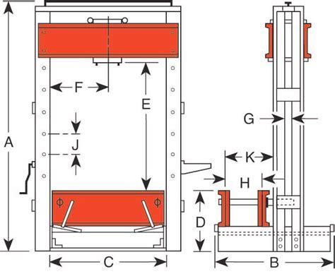 design and manufacturing of hydraulic presses custom hydraulic roll bed presses phoenix hydraulic