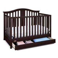 graco graco solano 4 in 1 convertible crib with drawer