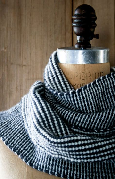 striped scarf pattern knitting s loop reversible stripes scarf purl soho purl