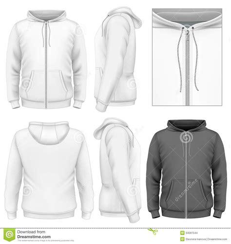 jacket design back men s zip hoodie design template stock images image