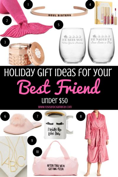presents to get your best friend for christmas gift ideas for your best friend 50