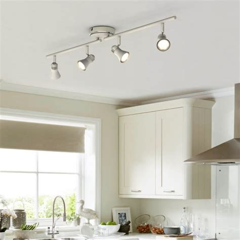 Spot Lights For Kitchen Kitchen Lights Kitchen Ceiling Lights Spotlights Diy At B Q