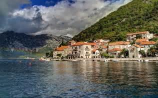 Galaxy Lights Perast Montenegro Wallpapers Perast Montenegro Stock Photos