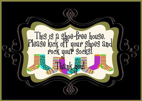 no shoes in the house sign printable take your shoes off sign printable images