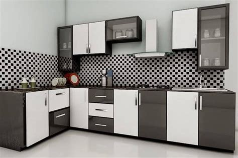 Kitchen Modular Ideas White refreshing kitchen color ideas lario modular kitchen
