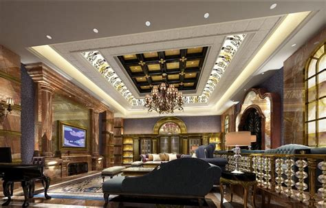 European Home Interior Design Living Room Ceiling And Floor Interior Design European Style 3d House Free 3d House Pictures