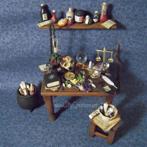 Wiccan Altar Table by Wiccan Altar Table 1 12 Scale By Dfly847 On Deviantart