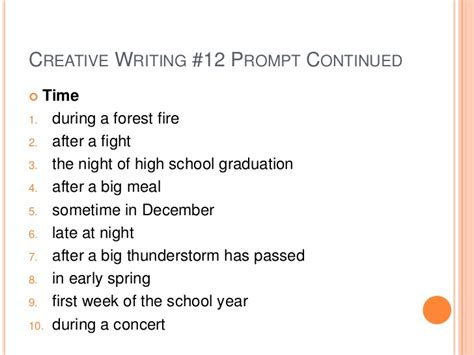 Imaginative Essay Topics by Creative Writing Prompts