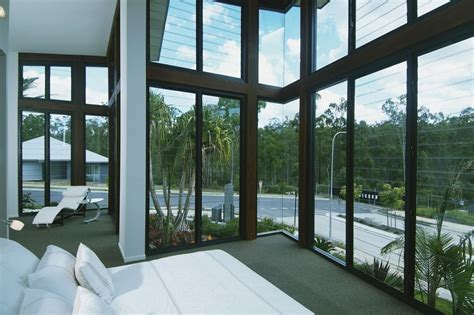 Modern Lake House by Louvre Window Features Aluminium Windows 171 Betaview Nsw