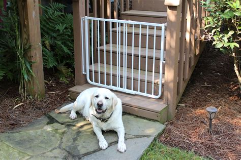 porch gate for dogs outdoor safety gate pet gates gate cardinal gates