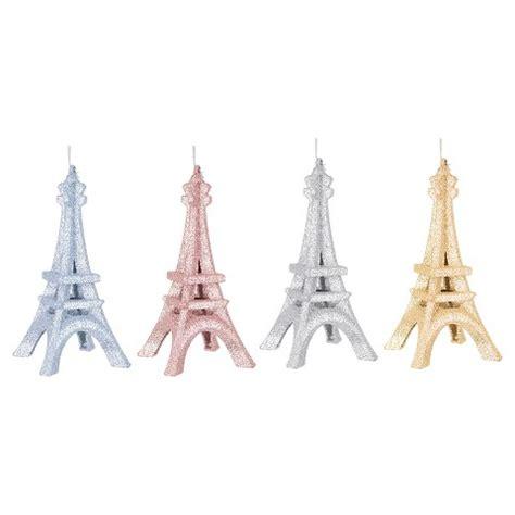 Eiffel Tower L Target by Glitter Eiffel Tower Ornament Set 4 Ct Assorted Target