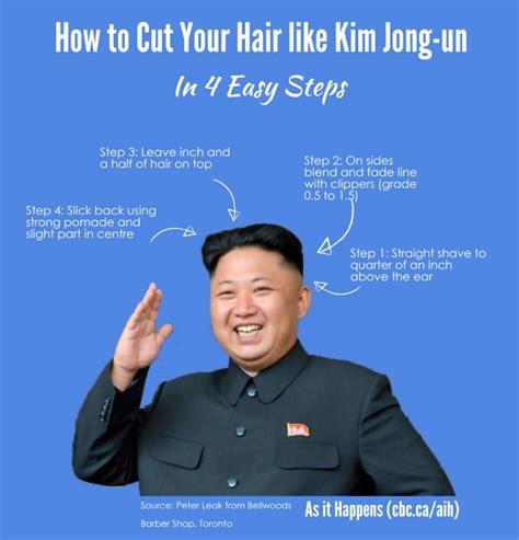 how to cut your hair like robach kompilasi inspiratif dari potongan rambut kim jong un boomee