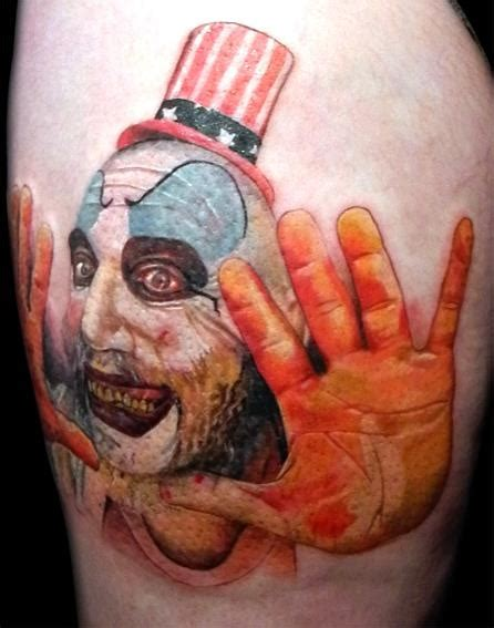 spaulding tattoo 1000 images about captain spaulding tattoos on
