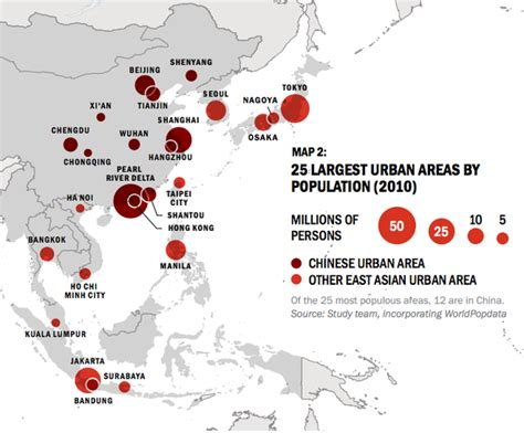 Eighty Percent Of Worlds Largest Malls In Asia by East Asia S Growth In 5 Infographics Citylab