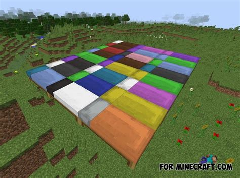 minecraft pe 1 1 dyeable beds