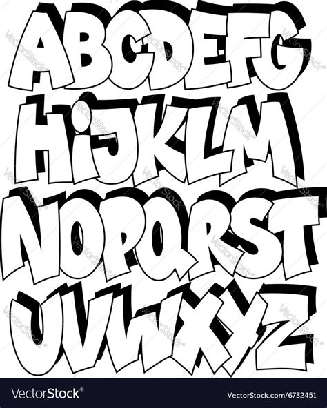 printable graffiti fonts alphabet cartoon graffiti alphabet cartoon comic graffiti font