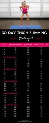 Hit The Floor Return - 30 day thigh slimming challenge free printable daily fit hit