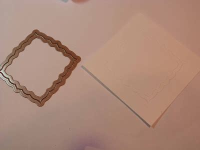 Embossed Panel Card Templates 02097 by Crafting The Web Thanks Card Tutorial