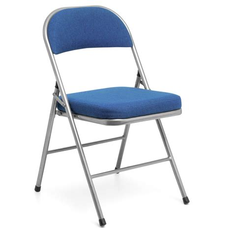 collapsible chair comfort deluxe folding chair