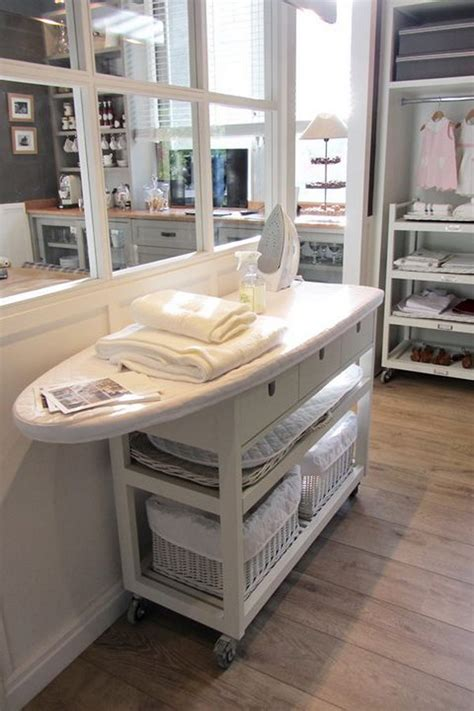 Kitchen Carts Islands Utility Tables by 50 Laundry Storage And Organization Ideas 2017