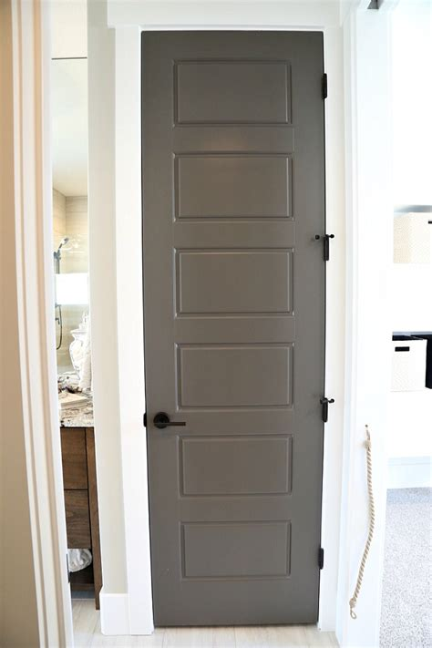 Interior Doors Painted Choosing Interior Door Styles And Paint Colors Trends