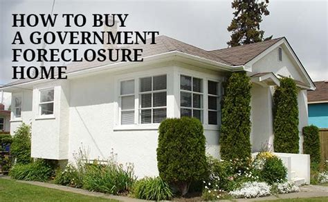 hud home find and buy a government foreclosure