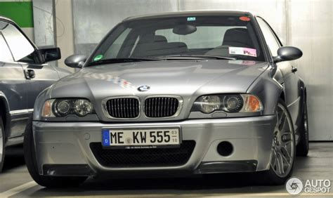 mint bmw e46 m3 csl spotted in germany autoevolution