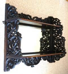 mirrored wall shelves mirrored hanging wall shelves antiques atlas