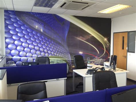 The Office Mural by Office Wall Murals Office Interior Decor Wallsauce