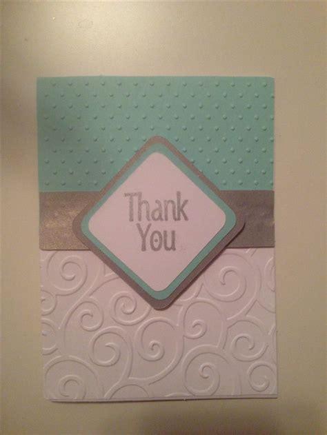 you card cricut thank you card diy a card any card