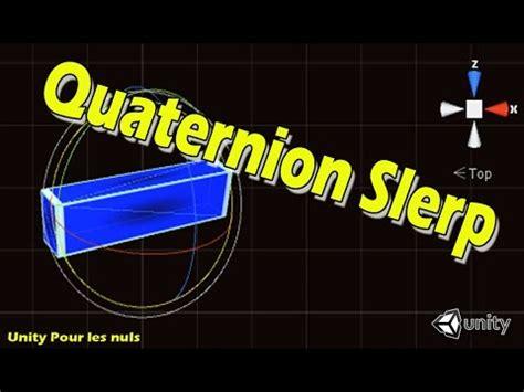 unity quaternion tutorial slerp