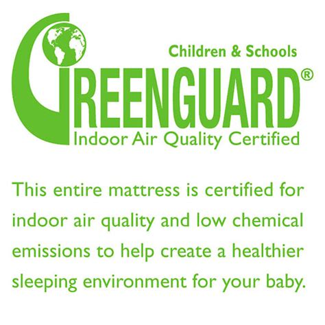 Greenguard Certified Mattresses by Kolcraft And Sealy Crib Mattress Simply The Best Choice