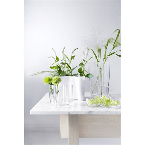 alto vase iittala aalto vase 160 mm white design shop