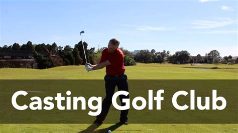 casting golf swing how to stop casting the golf club golf instruction my