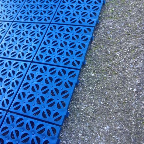 piastrelle in plastica per esterno multiplate pavimento drenante
