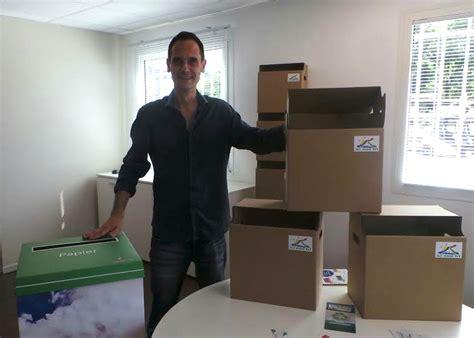 bureau recyclage lance le tri 224 la source des d 233 chets papier en entreprise