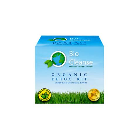 Bio Cleanse Herbal Detox Kit by Organic Detox Kit By Bio Cleanse