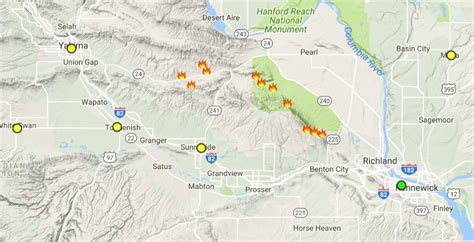 air quality map of oregon wildfire smoke causing air quality in the region to
